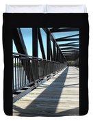 Saint Charles Walking Bridge Duvet Cover