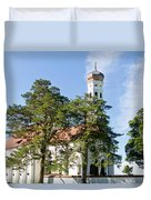 Saint Coloman Church 3 Duvet Cover
