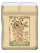 Saint Dorothy Duvet Cover