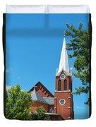 Saint George Church Duvet Cover