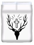 Saint Huberts Stag Duvet Cover
