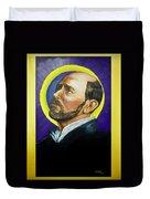Saint Ignatius Loyola Duvet Cover