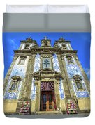 Saint Ildefonso Church Duvet Cover