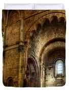Saint Isidore - Romanesque Temple Transept Duvet Cover