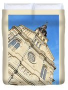 Saint Jean Baptiste Church In Quebec City Duvet Cover