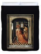 Saint Jerome (340-420) Duvet Cover