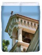 Saint John The Baptist Bell Tower Duvet Cover