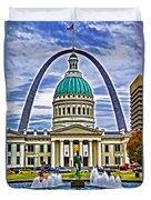 Saint Louis Icons Duvet Cover