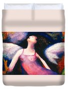 Saint Marcela Duvet Cover