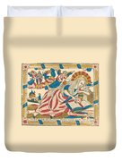 Saint Mary Magdalene Pray For Us Duvet Cover