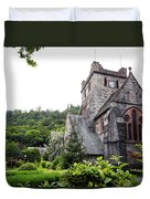 Saint Marys Church Duvet Cover