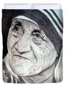 Mother Teresa Saint Of Calcutta  Duvet Cover