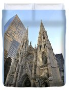 Saint Patrick's Cathedral Duvet Cover