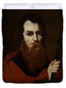 Saint Paul  Duvet Cover by Jusepe de Ribera