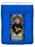Saint Peter Canisius Duvet Cover