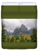 Saint Peters Dome At Columbia River Gorge Duvet Cover