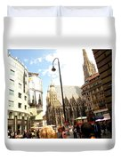 Saint Stephen Duvet Cover