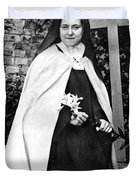 Saint Therese De Lisieux Duvet Cover