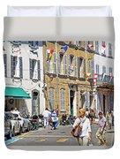 Saint Tropez Moment Duvet Cover