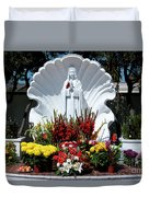 Saint Virgin Mary Statue #2 Duvet Cover