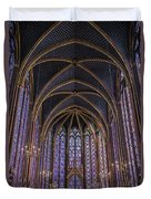 Sainte Chapelle Stained Glass Paris Duvet Cover