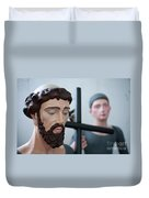 Saints Duvet Cover