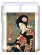 Sakura Beer Duvet Cover