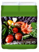 Salad Duvet Cover
