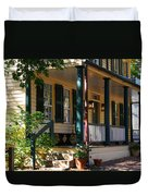 Salem Tavern Duvet Cover