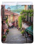 Salita Serbelloni Bellagio Italy Duvet Cover