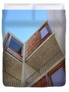 Salk Architecture Duvet Cover