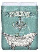 Salle De Bain Duvet Cover