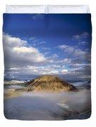 Salmon River Mountains Duvet Cover