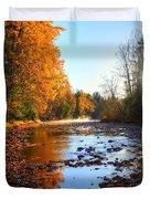 Salmon River Sanctuary Duvet Cover