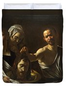 Salome Receives The Head Of Saint John The Baptist Duvet Cover