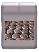 Salt And Pepper Duvet Cover