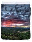 Salt Creek Sunrise Duvet Cover