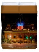 Salt Lake City Union Pacific Depot Duvet Cover
