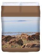 Salt Lake View 3 Duvet Cover
