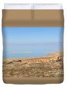 Salt Lake View Duvet Cover