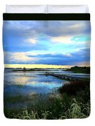 Salt Marsh Duvet Cover