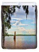 Salt Mine Disactor Monument Jefferson Island Louisiana  Duvet Cover