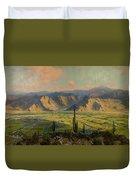 Salt River Irrigation Project - Arizona Duvet Cover