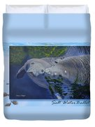 Salt Water Ballet - Manatees - 2 Duvet Cover