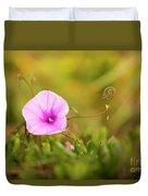 Saltmarsh Morning Glory Flower  Duvet Cover