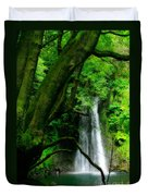 Salto Do Prego Waterfall Duvet Cover