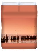 Salton Sea Duvet Cover