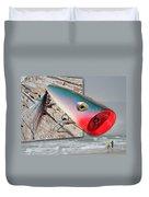 Saltwater Fishing Duvet Cover