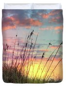 Salty Breeze On The Dunes Duvet Cover