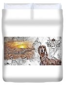 Saluki - The One And Only Duvet Cover